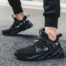 Men's Causal Shoes Mens mesh lightweight breathable lace-up