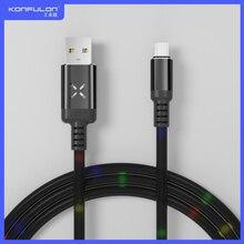نوع C كابل يو اس بي الهاتف المحمول USB كابل بيانات للهاتف المحمول دروبشيبينغ مايكرو كابل بيانات 2.1A سريع كابل شحن DC10 ، DC11