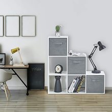 Closet-Shelf Cube-Storage Wooden Living-Room for Study-Room Balcony Organizers Bookcase