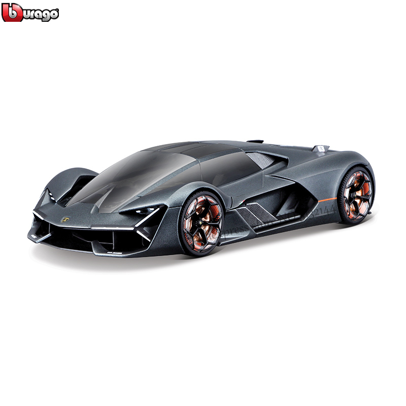 Bburago 1:24 Lamborghini Third Age Concept Terzo Millennio Car Gift Simulation Alloy Car Collection Toy