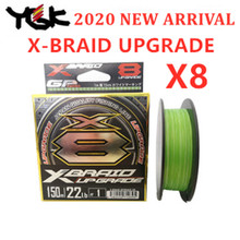 YGK 2020 NEW X-BRAID X8 upgrade PE 8 Braid Fishing line 150M 200M made in Japan
