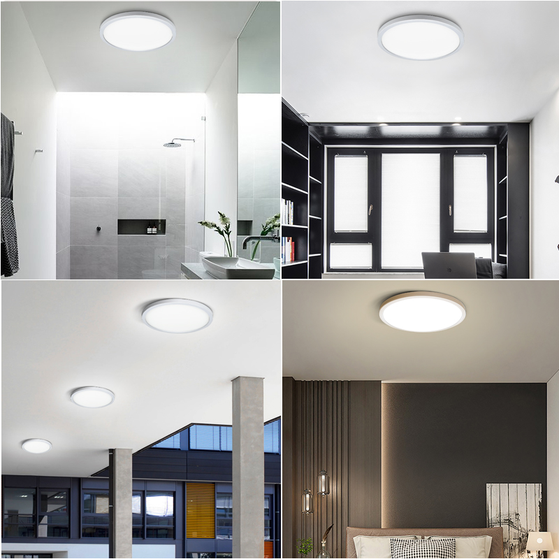 Living Room lights LED Ceiling Lamp Ultra-thin Cold White18W 24W 36W 48W lighting fixture Ceiling Lights for Bedroom and kitchen 6
