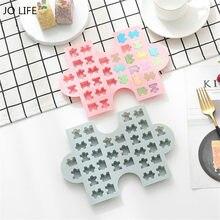 JO LEBEN Silikon Gummy Schokolade Form Neuheit Kreative Puzzle Kuchen Dekoration Fondant Form