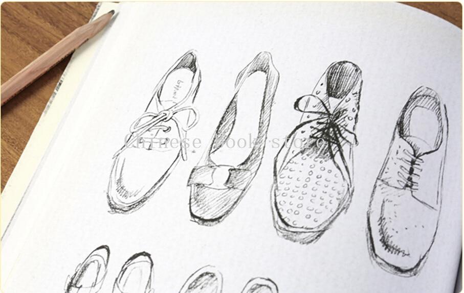 Super Chinese tekening art boek Potlood Tekening Basic Cursus Schets LX-44