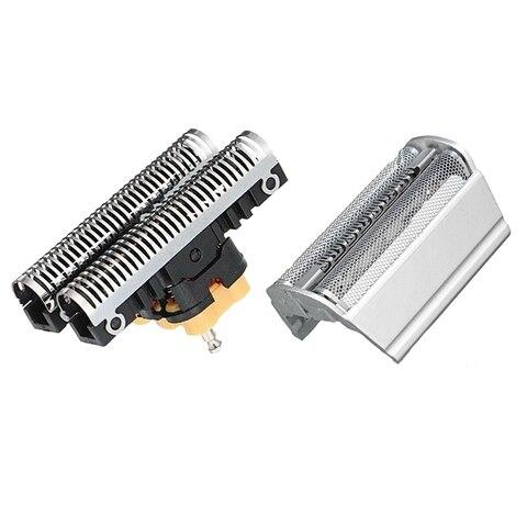 Cabeça da Lâmina de Cisalhamento Combi para Braun Shaver Series 3 31s 31b 5000 6000 Mod. 112986