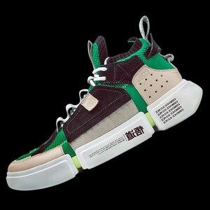 Image 2 - Li ning zapatillas de deporte para hombre, zapatillas deportivas transpirables con forro de hilo, marca li ning 2 ACE NYFW, modelo AGWN041 XYL159
