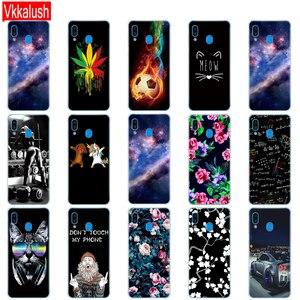 Image 4 - Case For Samsung Galaxy A20 Case A20E Silicon Tpu Back Cover For Samsung A20 A 20 2019 A205F A20E A202F Cover Soft Fundas Bumper