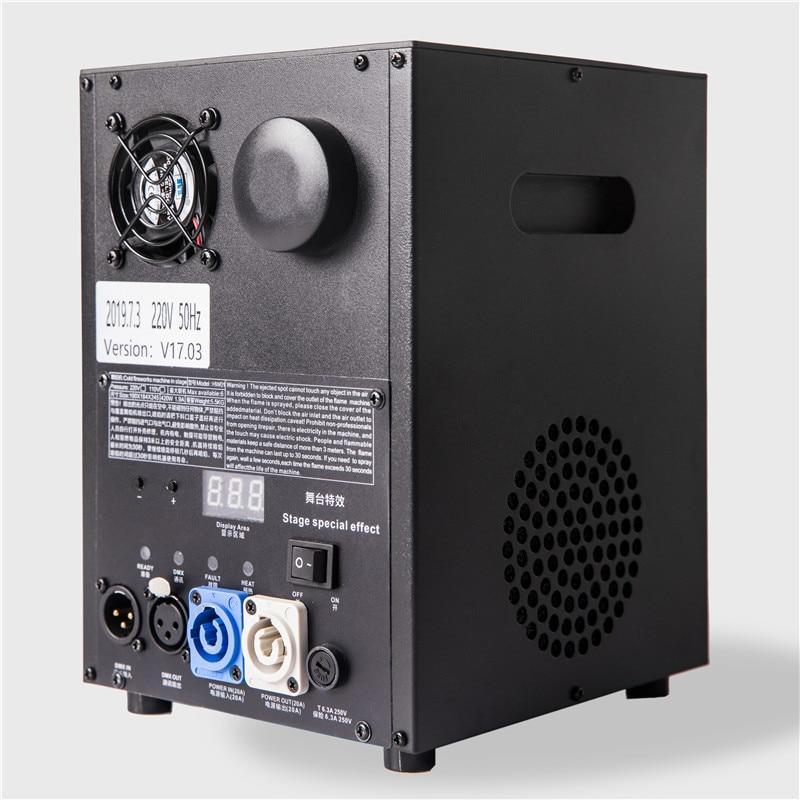 DMX/Remote Control Cold Fireworks Spark Machine Spray 1-5m Height Firework Fountain Spark Wedding Machine
