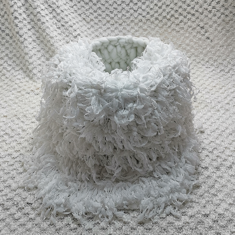 Clearance 150*100cm Knitted Acrylic Thin Fabric Backdrop Blanket+Knitted Basket+50cm Hand Crochet Round Blanket For Baby Shoot