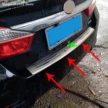 Защита заднего бампера из нержавеющей стали для toyota camry
