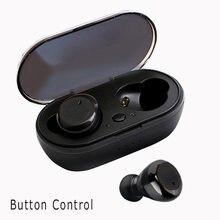 Écouteurs sans fil Bluetooth 5.0, Y50 TWS, oreillettes de sport, casque avec micro, pour téléphone intelligent Xiaomi, Samsung, Huawei