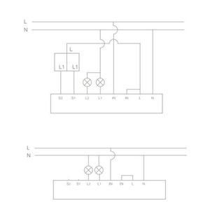 Image 5 - Original aqara módulo de controle em dois sentidos relé sem fio controlador 2 canais de trabalho para mijia app e kit casa