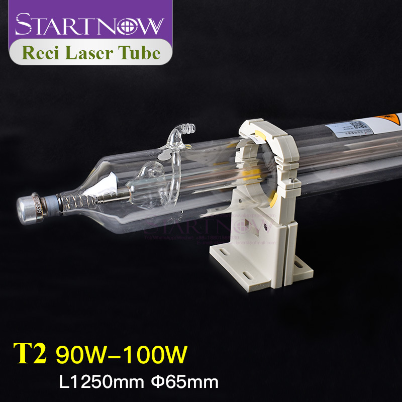 Startnow Reci T2 90W-100W CO2 Laser Tube Wooden Box Packing Dia. 65mm For CO2 Laser Engraving Cutting Machine Z2