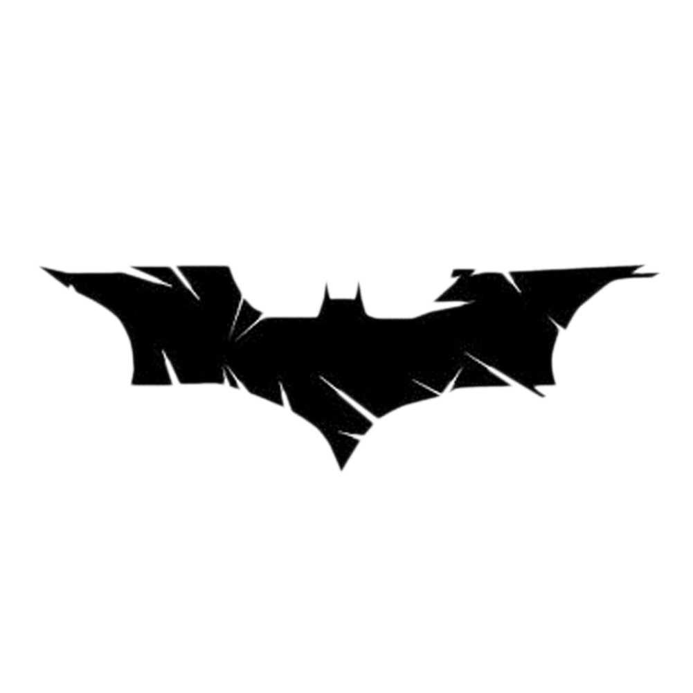 19*6.5 Cm Nứt Batman Cá Tính Thời Trang Xe Miếng Dán Trang Trí Cổ Điển Sáng Tạo Phụ Kiện Ô Tô Màu Đen
