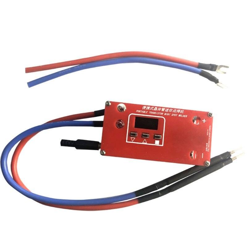 Portable DIY Mini Spot Welder Machine 18650 Battery Various Welding Power Supplies for Super Capcitor