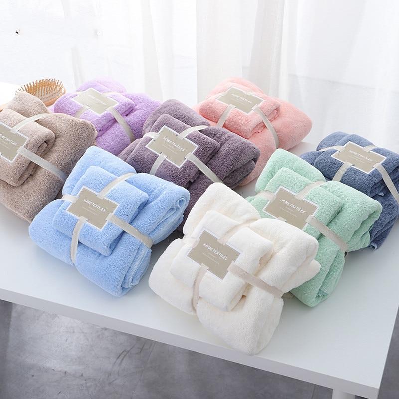 2Pcs/Lot Baby Towel +Baby Bath Towel Newborn Baby Stuff Set Kids Swimming Beach Toallas Cotton Baby Towel Set