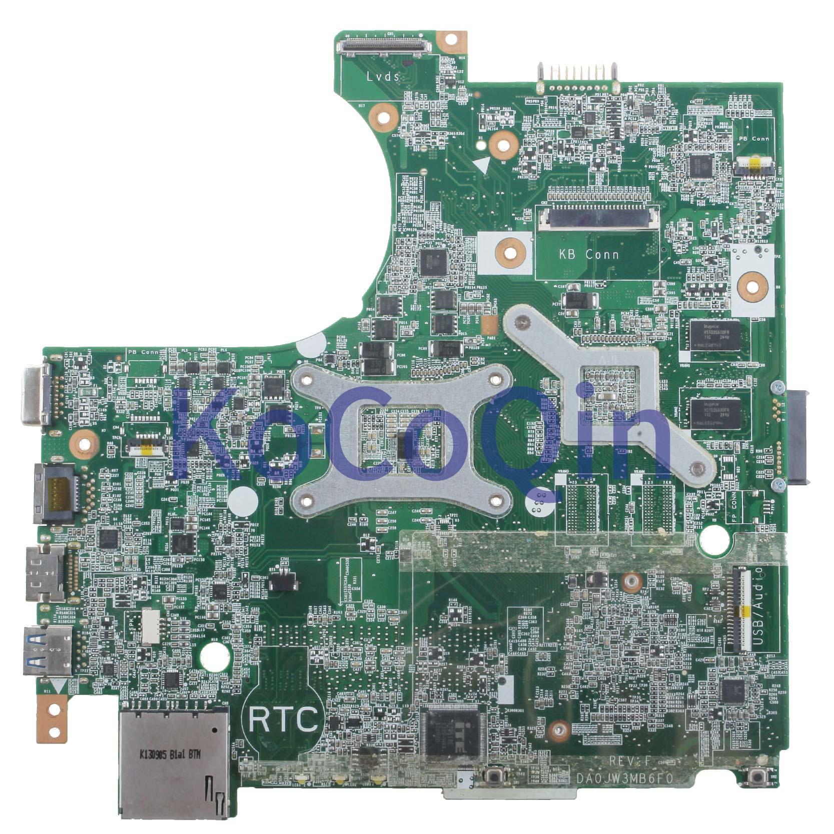 KoCoQin carte mère d'ordinateur portable pour Hasee K470N DA0JW3MB6F0 carte mère N14M-GL-B-A2 - 2