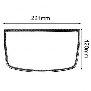 Image 5 - סיבי פחמן לוח מחוונים רמקול דקורטיבי סטיילינג מדבקה עבור BMW E70 E71 X5 X6