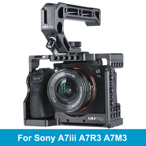 Image 1 - UURig C A73 Metal Camera Cage Rig for Sony A7III A7R3 A7M3 Cold Shoe Mount Arca Style Quick Release Mount with Top Handle Grip