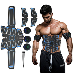 Abdominal Muscle Stimulator Trainer Shaper Househeld Exercise Body Slimming Fat Burning Shape Fitness Electric Muscles Building