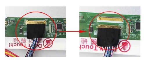 "Driver Board Voor LP156WH4 Panel Led Controller Board 2AV 1366 × 768 Remote Monitor Scherm 15.6 ""Dvi Kit Vga 40pin"