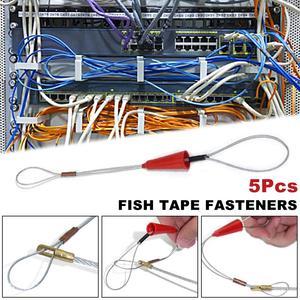 Image 3 - 5 Pcs חשמלאי לדחוף Pullers צינור אדום חוט מתיחה דגים קלטת אטב כלי עבור חשמל דגי קלטת כבל פולר