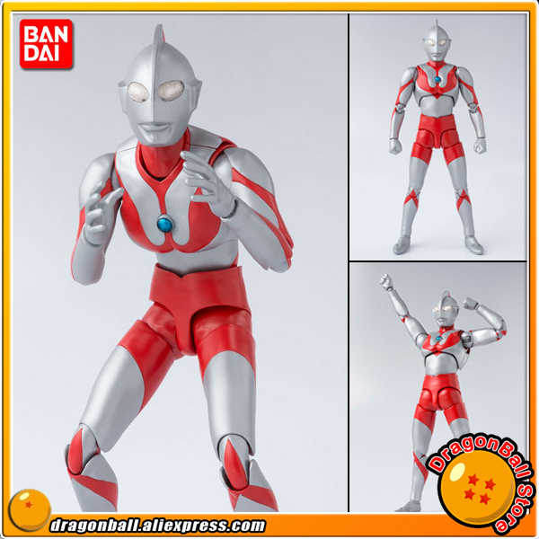 "Japan Anime ""Ultraman"" Originele Bandai Geesten Tamashii Naties S.H. Figuarts/Shf Action Figure - Ultraman"