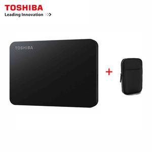 Disk Case Laptop External-Hard-Drive Toshiba Original Desktop Usb-3.0 1TB 500GB