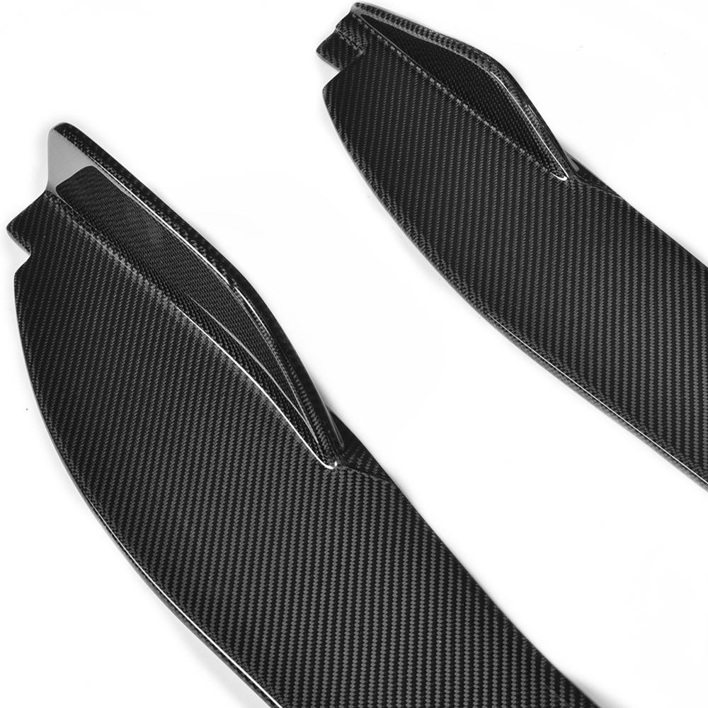 Углеродное волокно авто боковые юбки расширение губы фартук для Jaguar F Тип купе 2 двери 2015 2016 2017 - 6