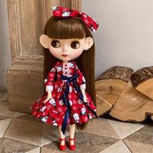 Blyth – poupée articulée personnalisée, visage mat, peau blanche givrée, 1/6 BJD, cadeau pour fille, Collection de poupées