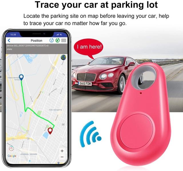 GPS Smart Tracker Mini Waterproof Bluetooth Locator For Cats - Dogs  3
