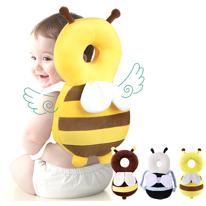 baby head protection pillow cartoon infant anti fall pillow soft pp cotton toddler children protective cushion baby safe care