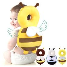 Ochrona głowy dziecka poduszka kreskówka niemowlę anty-upadek poduszka miękka PP bawełna maluch dzieci poduszka ochronna dla dzieci bezpieczna pielęgnacja tanie tanio Unisex 100 bawełna Poliester bawełna CN (pochodzenie) W wieku 0-6m 7-12m 13-24m Quality Ochrona szyi poduszki Babies