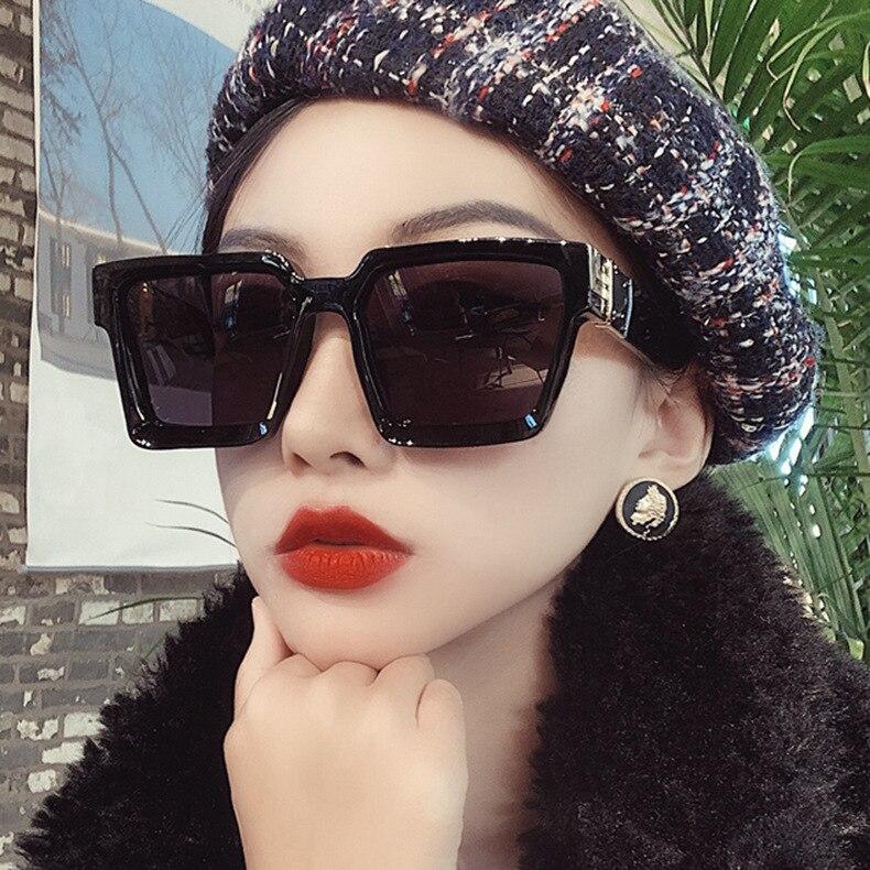 Sexy Square Sunglasses Women Fashion Brand Leopard Sun Glasses Female Black Brown Shades For Men Ladies Gafas De Sol Mujer