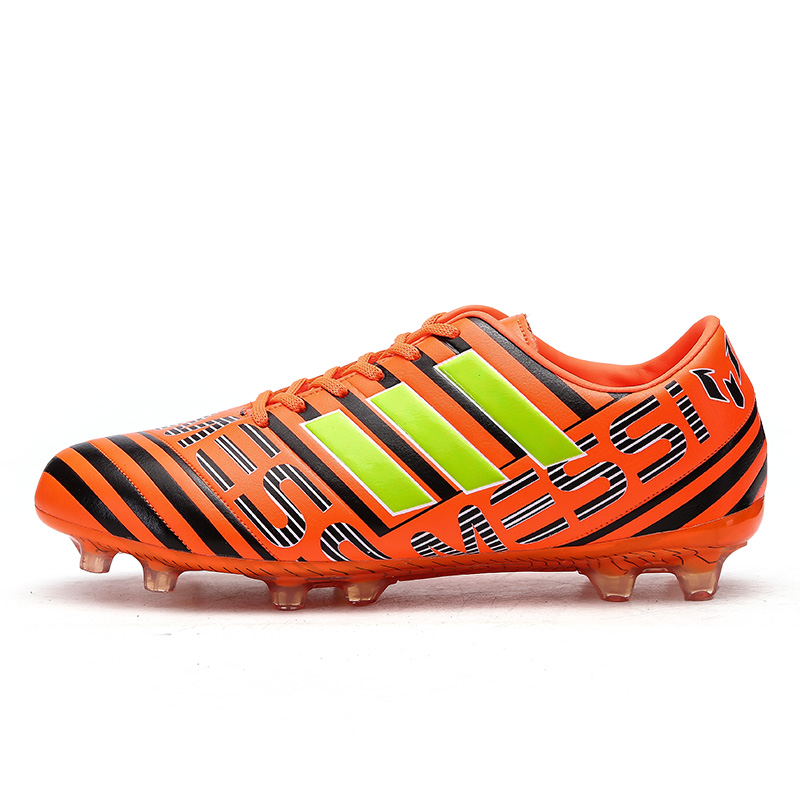 Original Training Soccer Sneakers Speedmate FG Football Boots Comfortable Soft Breathable Soccer Cleats Academy Artificial Grass 19