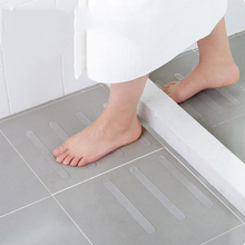 5pcs Anti Slip Bath Grip Stickers Non Slip Shower Strips Flooring Safety Tape Mat Pad 38x2cm Non Slip Strips Stickers HOT SALE cheap 3D Sticker Modern Floor Stickers Glass Bathroom Non-slip stickers Acrylic PATTERN PET PVC About 20*2cm 1 x 5Pcs Set Transparent Anti-slip Stickers