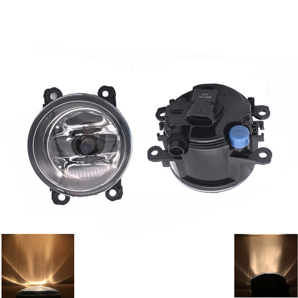 2PCS 12V 55W Halogen Fog Lamps lighting <font><b>LED</b></font> Lights For <font><b>Ford</b></font> <font><b>Focus</b></font> <font><b>MK3</b></font> Saloon 2011-2015 Hatchback 2011-2015 image