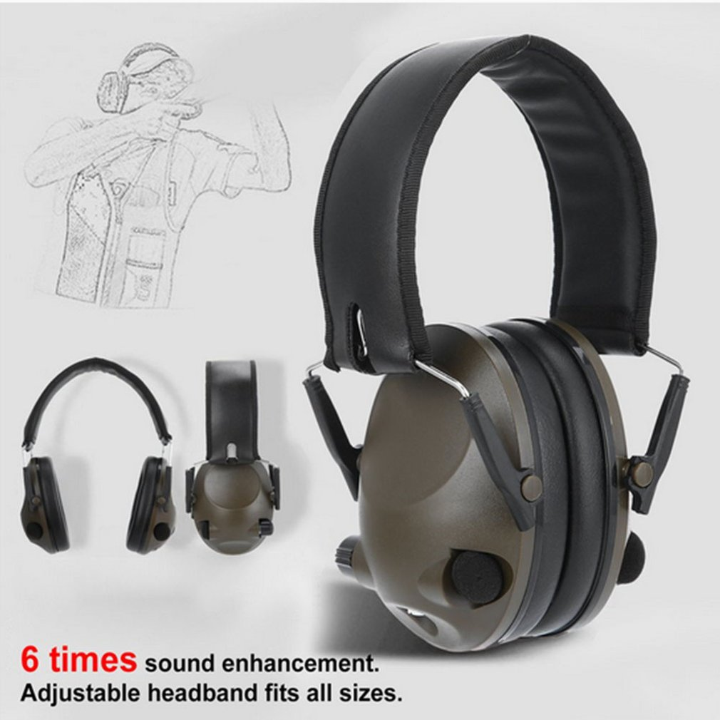 Military Tactical Earmuff Noise Reduction Hunting Shooting Headphone Anti-noise Ear Defenders Hearing Protector
