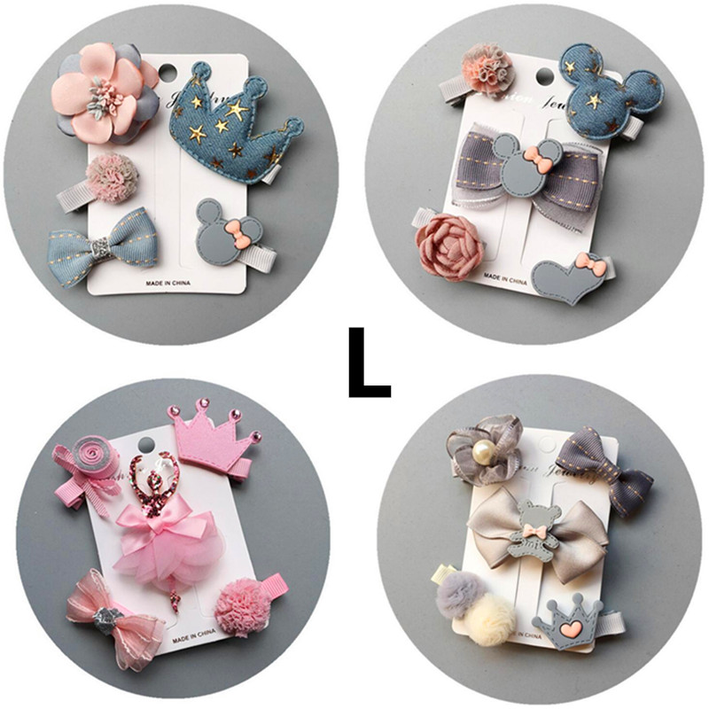 Top SaleBarrettes Headwear Hairpin-Set Hair-Accessories Hiar-Clips Animal Girls Baby Kids Children