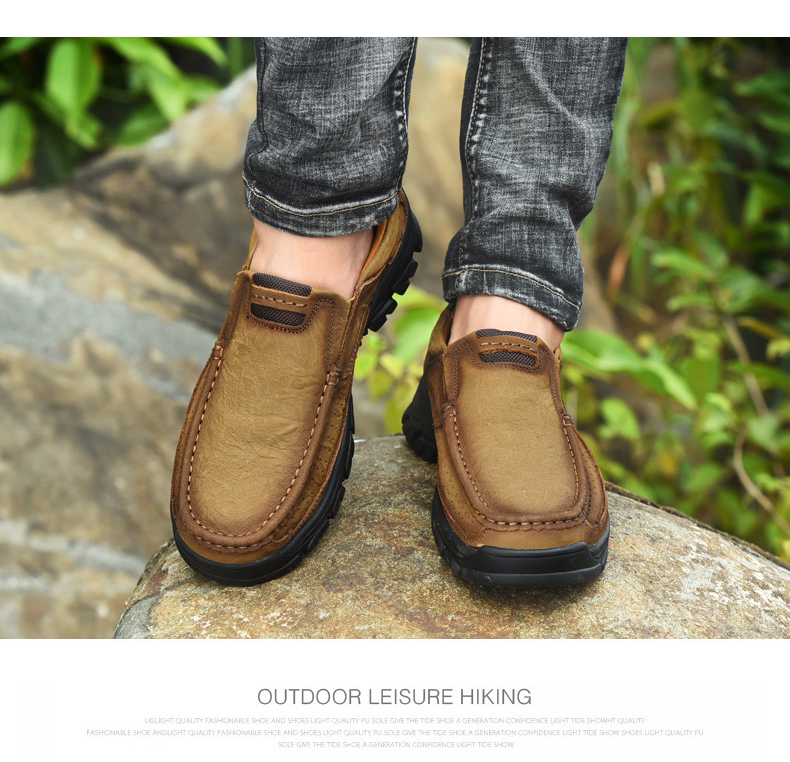 Hb9d5ff4d6b954115b15c477899e73c4fY Men Casual Shoes Sneakers 2019 New High Quality Vintage 100% Genuine Leather Shoes Men Cow Leather Flats Leather Shoes Men