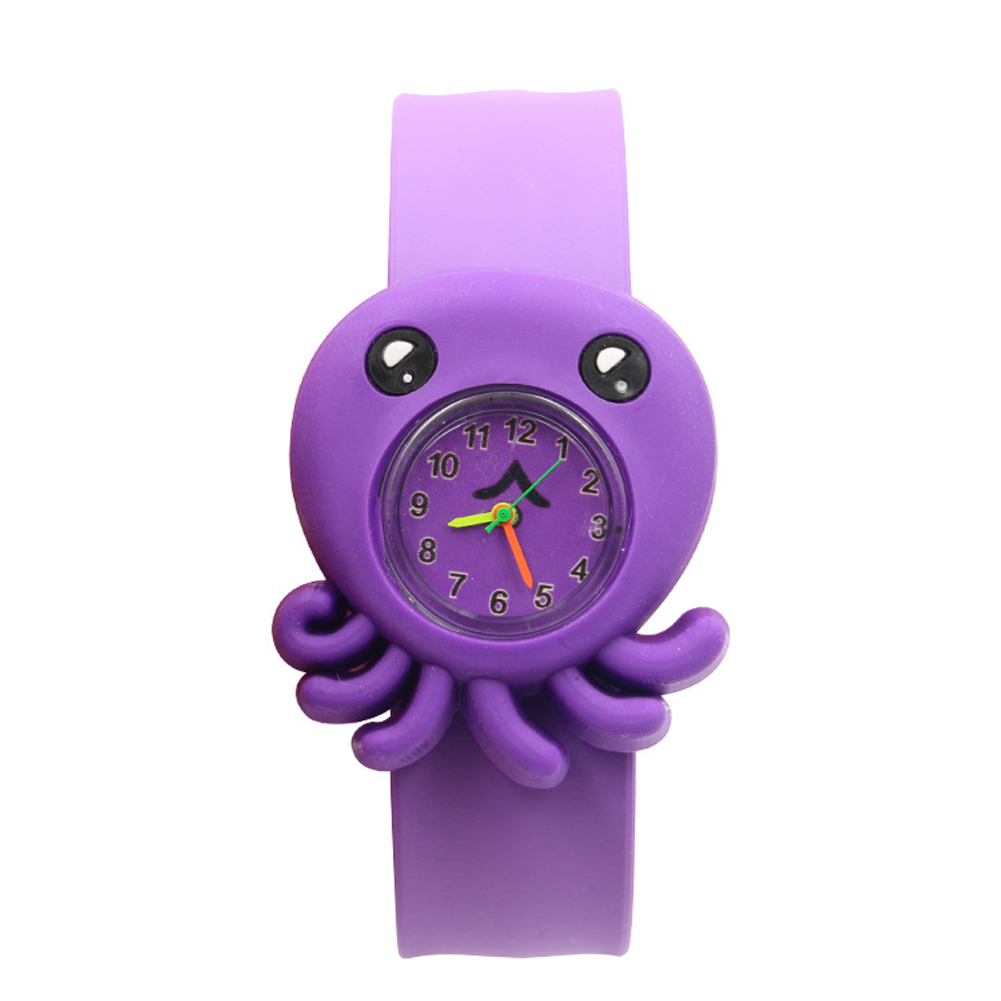 Cartoon Pattern Multi-color Silicone Tape Children Watch Durable Toys Student Patted Table Interesting Gift Birthday 3D Annimals