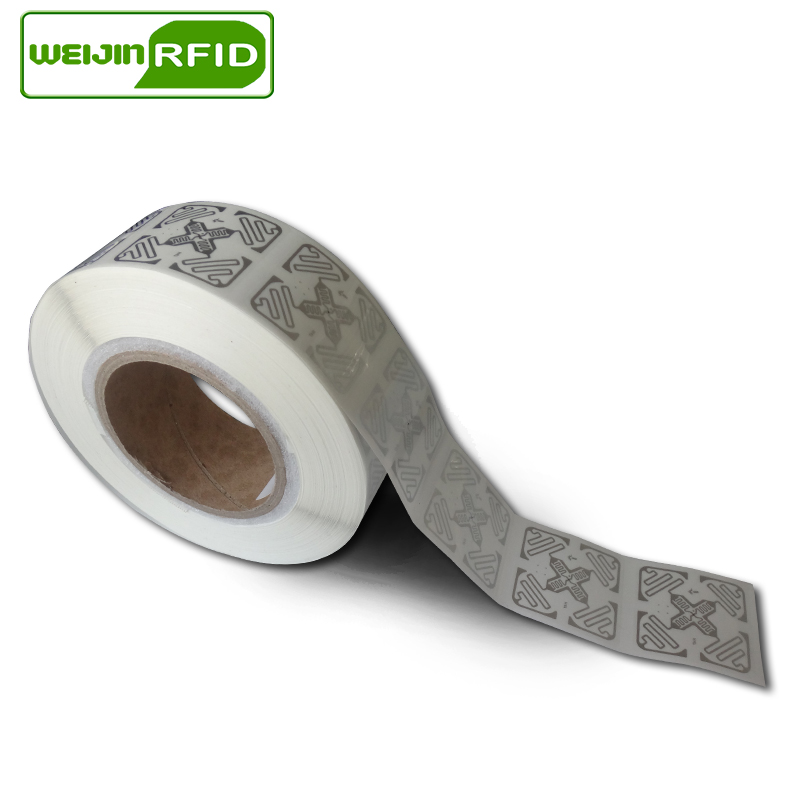 Rfid Sticker Uhf Tag Passive Tags Impinj Alien Wet Inlay 900 915m 868 860-960mhz VIKITEK EPC C1G2 6c Self-adhesive Label RF Chip