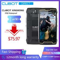 Cubot KingKong IP68 防水堅牢なスマートフォン 4400 3000mah の大バッテリー 3 グラムデュアル Sim の Android 7.0 2 ギガバイトの RAM 16 ギガバイト Rom コンパス + GPS MT6580