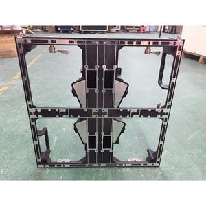 Image 2 - 500x500 มม.อลูมิเนียมหล่ออลูมิเนียมตู้,P3.91 P4.81 ที่ว่างเปล่าตู้ในร่มกลางแจ้งจอแสดงผล LED