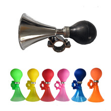 цены New Bicycle Bell Horn Safety Bike Bells MTB Bicycle Air Horn Bell Alarm Cycling Handlebar Bells For Bike Accessories Horns