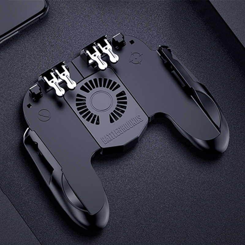 HESTIA New PUBG AK66 L1R1 Six Finger Game Controller