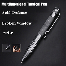 Upgraded Version Tactical Pen Self Defense Pocket Aviation Aluminum Anti-skid Military  Outdoor Sports defense personal Survival