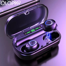 V10 TWS Earphones Cordless Ecouteur Wireless Bluetooth 5.0 Noise Isolating True Wireless Earbuds lightning LED Display Earpiece 2018 bluetooth 5 0 tws earphones with charge box ipx6 touch cordless earbuds invisible stealth mini ecouteur true wireless yz213