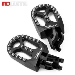 Image 2 - MDMOTO זוג אופנוע CNC הדום Footpeg רגל יתדות להונדה CRF250R CRF 250 R CRF 250R CRF250 R 2004   2019 2020 אביזרים
