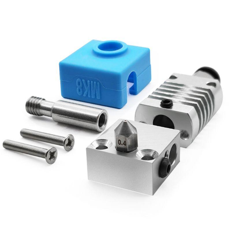 1Set 3D Printer Parts All Metal Hotend Extruder Kit for CR-10-10S Ender 3-3S